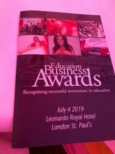 Education Business Awards 2019